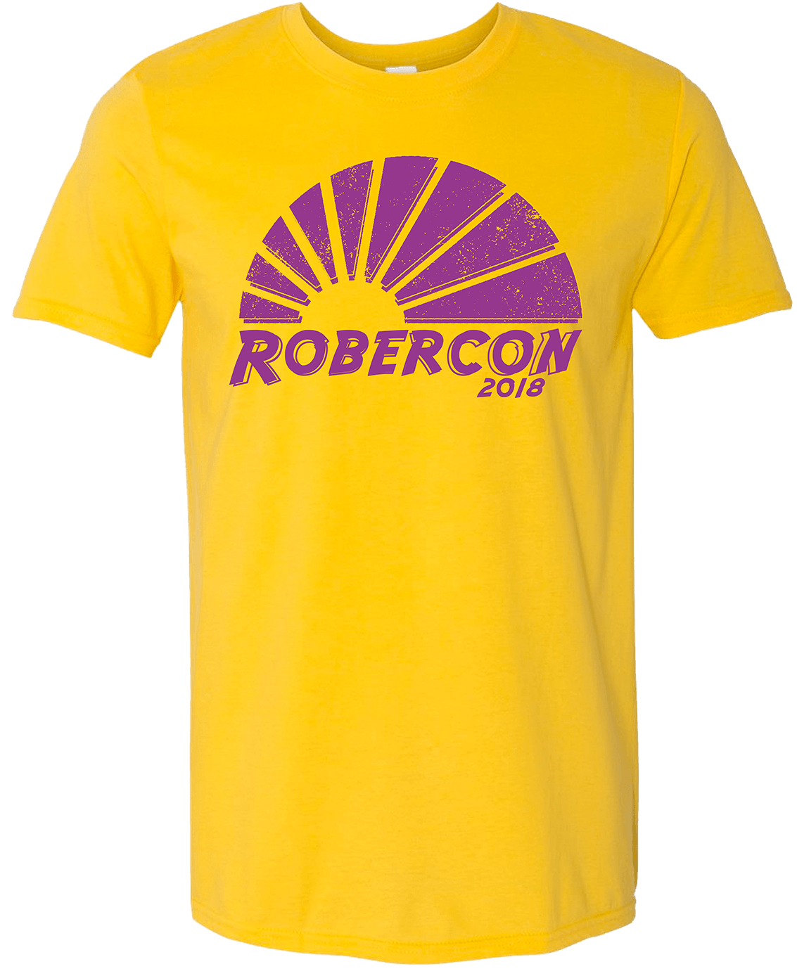 robercon yellow shirt